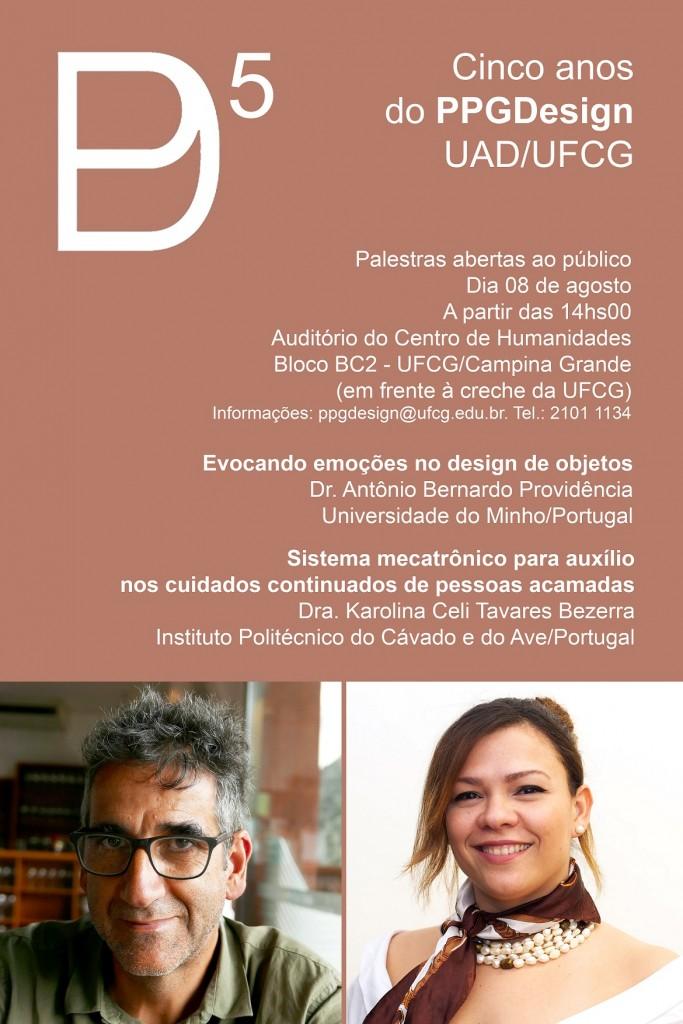 PALESTRAS BERNARDO E KAROLINA